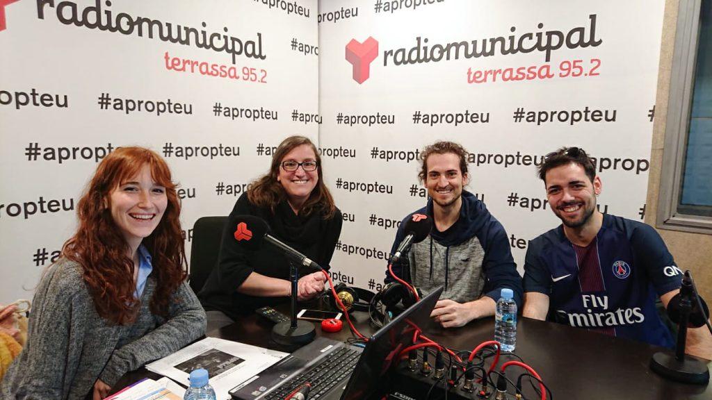 uHandle visits Radio Terrassa