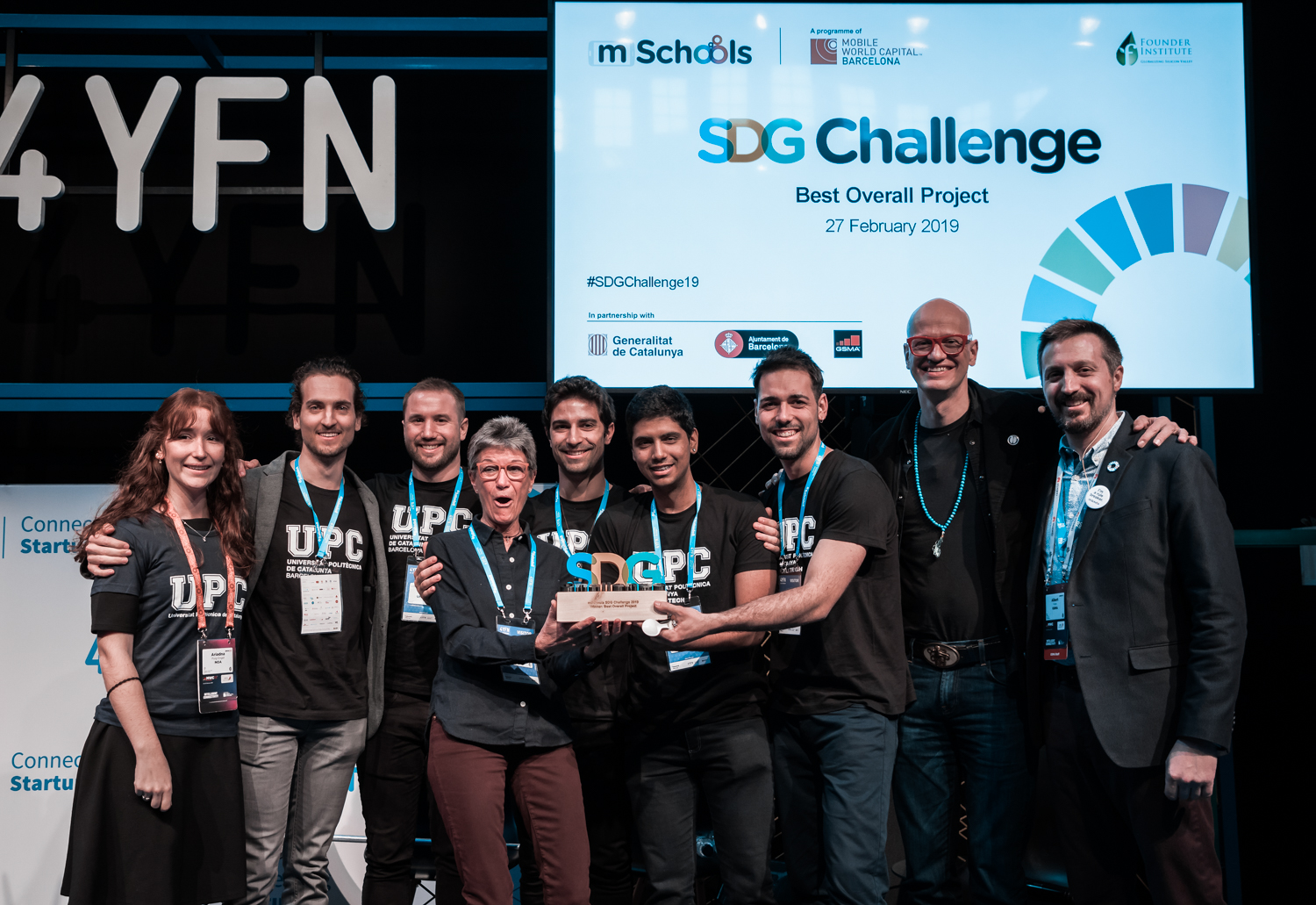 uHandle wins the contest of 4YFN