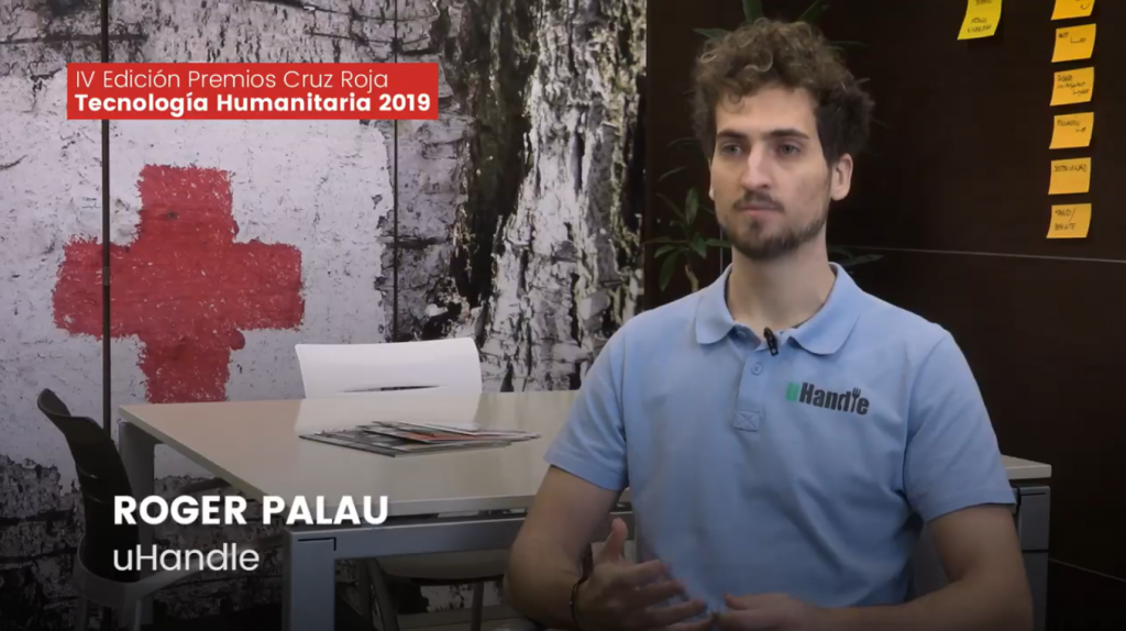 Cruz Roja premia a uHandle en la IV edición de Tecnología Humanitaria